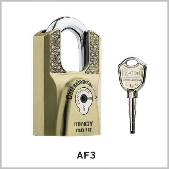 Candado zinc alloy padlock af3