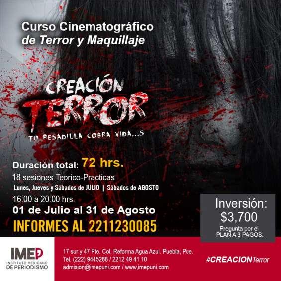 Curso de cine de terror y maquillaje