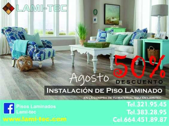 Súper promoción de piso laminado de alta calidad